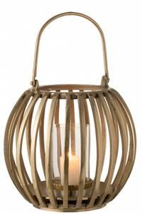 Bilde av Lanterne ball aluminium gull